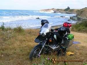 Wyprawa motocyklowa – Bułgarski Bastion Komunizmu – Morze Czarne