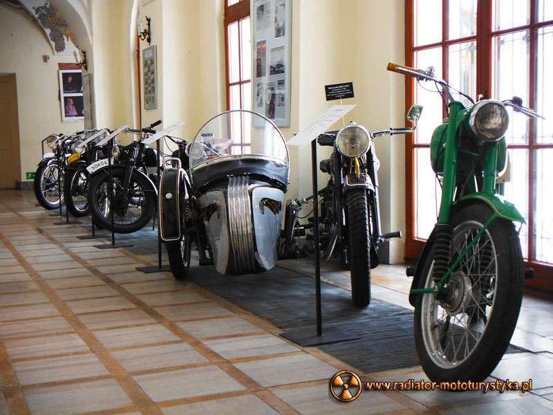 Z wystawy motocykli zabytkowych - Rzeszów