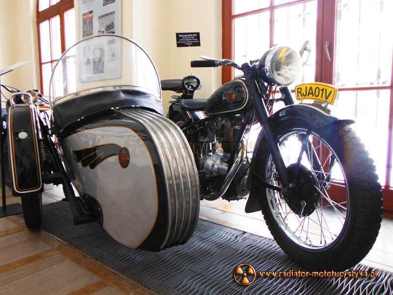 Z wystawy motocykli zabytkowych - Rzeszów 2014