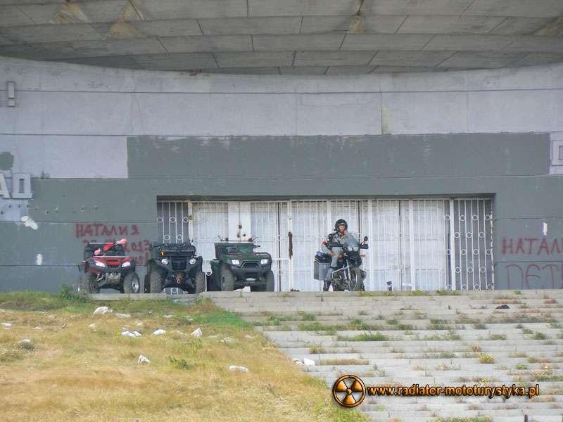 Wyprawa motocyklowa – Bułgarski Bastion Komunizmu - Buzłudża