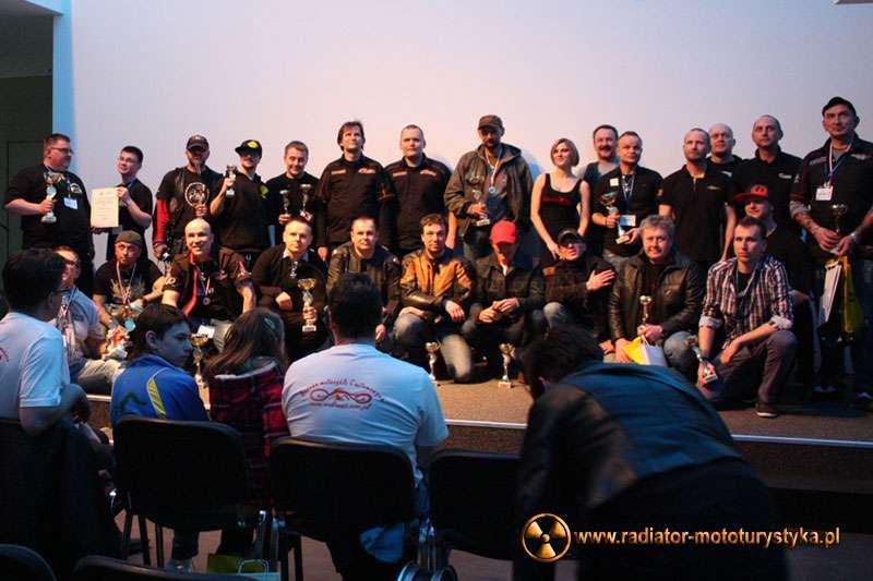 Nagrodzeni podczas Motor Show, V Custom Festival 2013