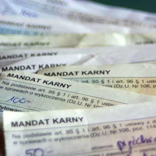 Mandat - opłata kartą lub przez telefon