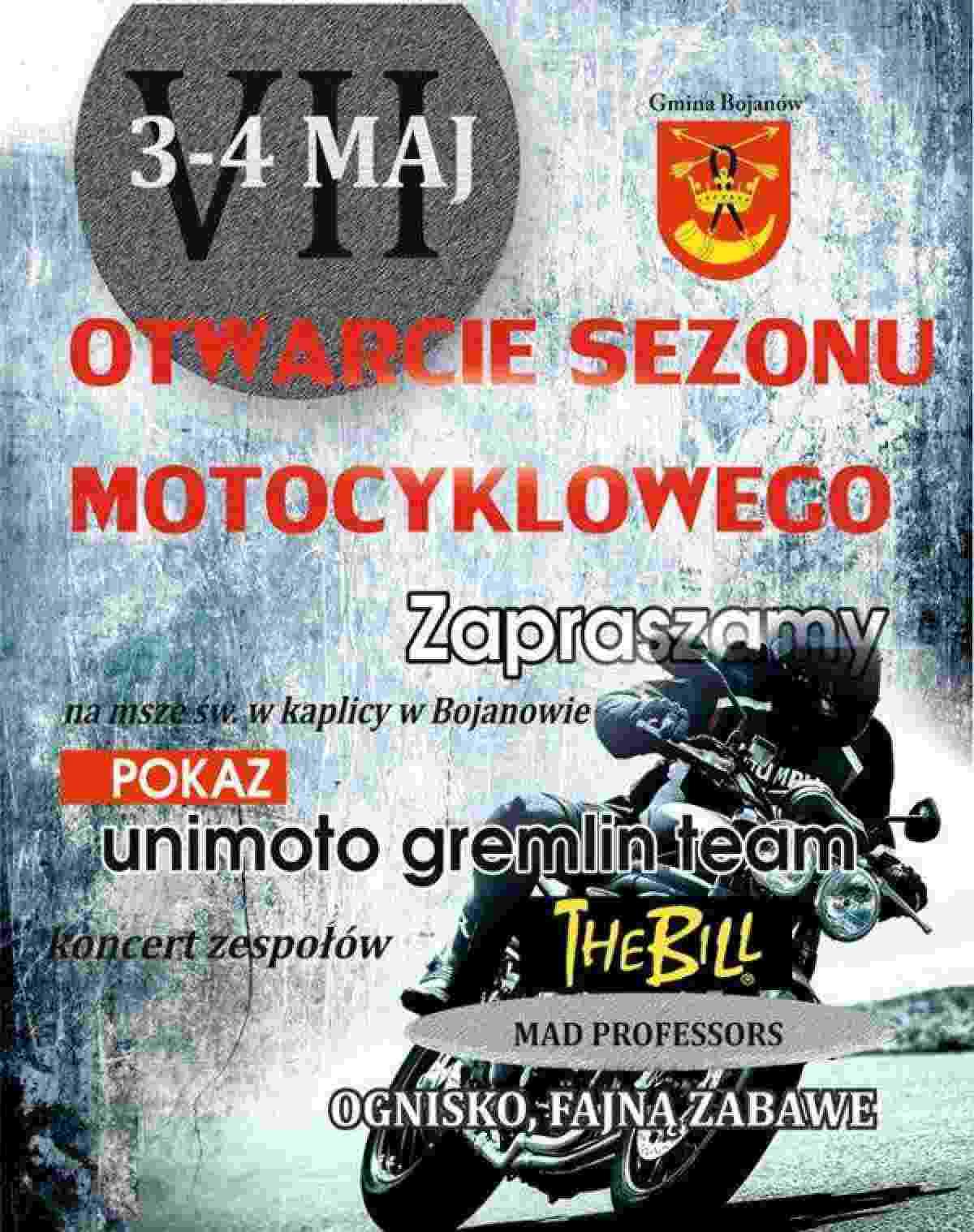 VII Otwarcie Sezonu Motocyklowego Bojanów 3-4.05.2014