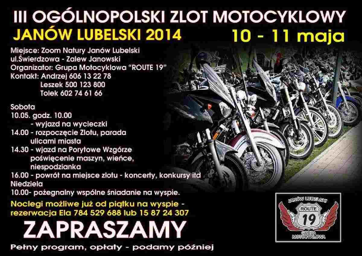 Zlot Motocyklowy Janow Lubelski