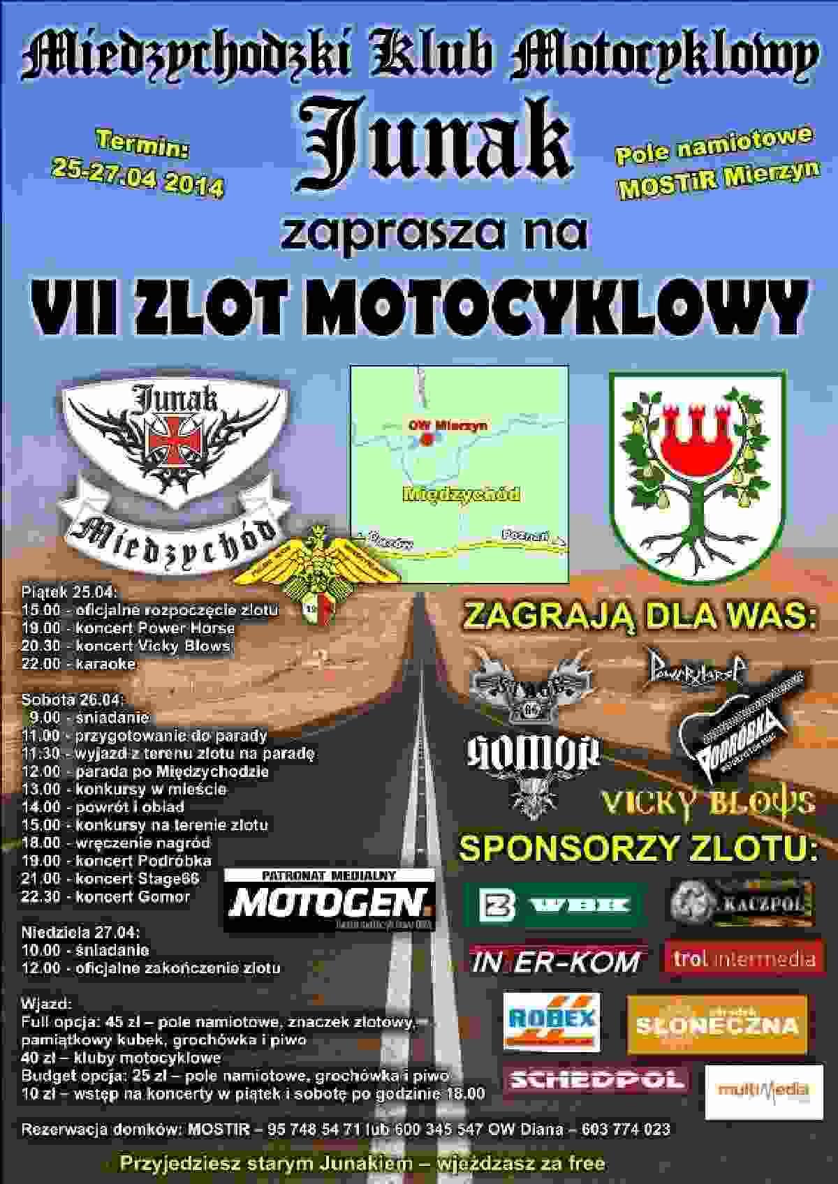 VII Zlot MKM JUNAK Międzychód