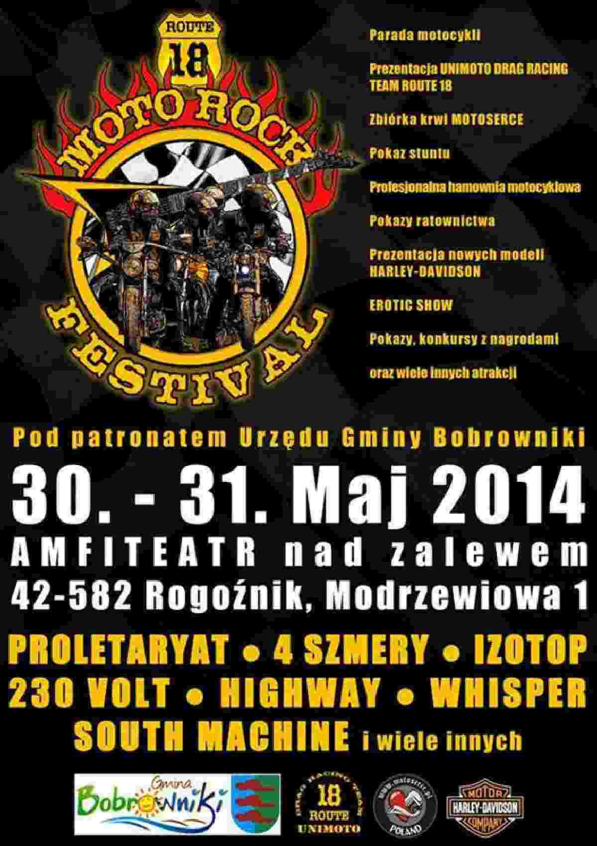 Moto Rock Festival 30-31.05.2014 – Rogoźnik