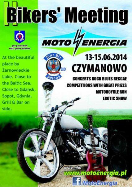 Zlot Motocyklowy Moto Energia 13-15.06.2014 – Czymanowo