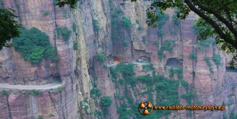 Guoliang droga, tunel w Chinach