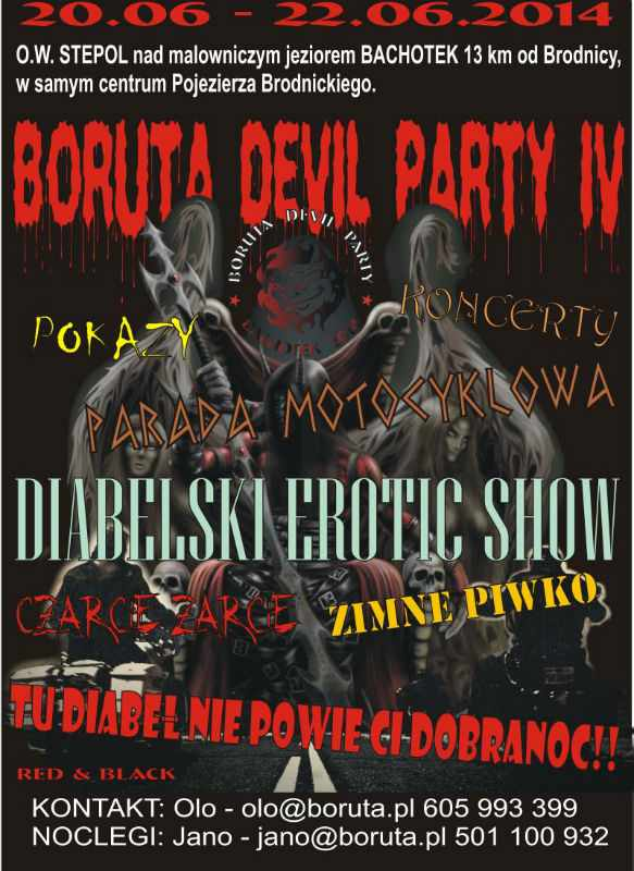 IV Boruta Devil Party 20-22.06.2014 – Stepol