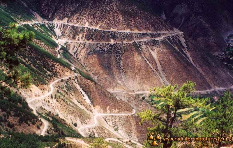 Droga Syczuan - Tybet