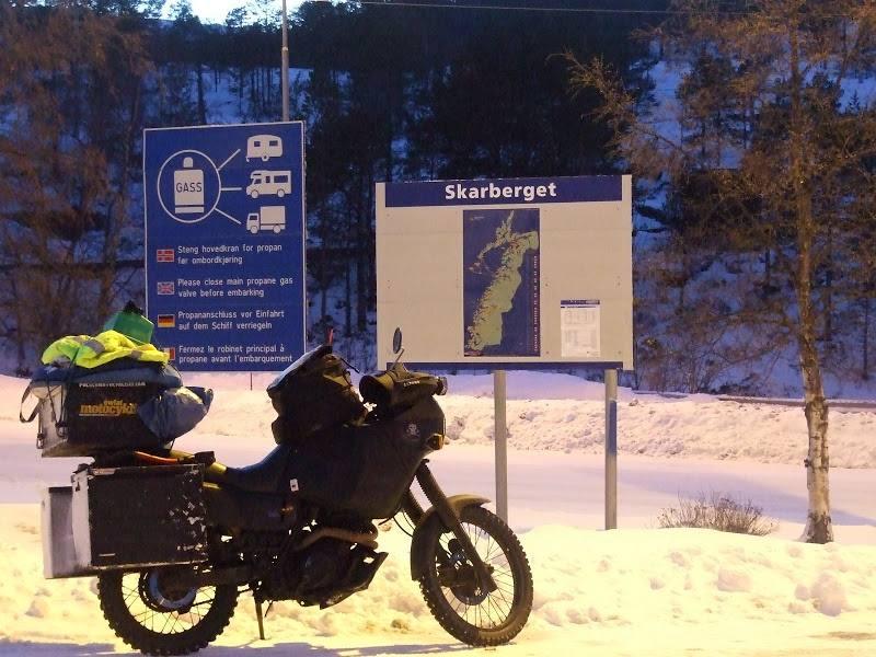 Nordkapp zimą – samotny rajd przez śniegi 4 …