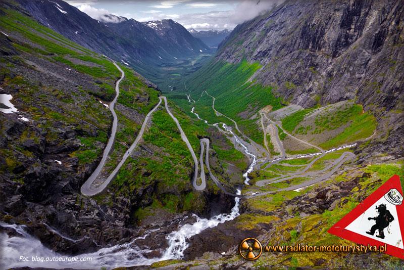 Niezwykłe i niebezpieczne drogi świata – Europa, Norwegia