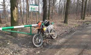 motocyklista - mandat - las