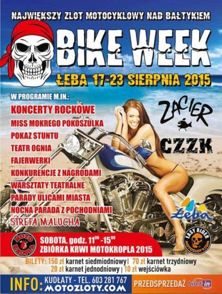 V Bike Week Łeba – 17-23.08.2015