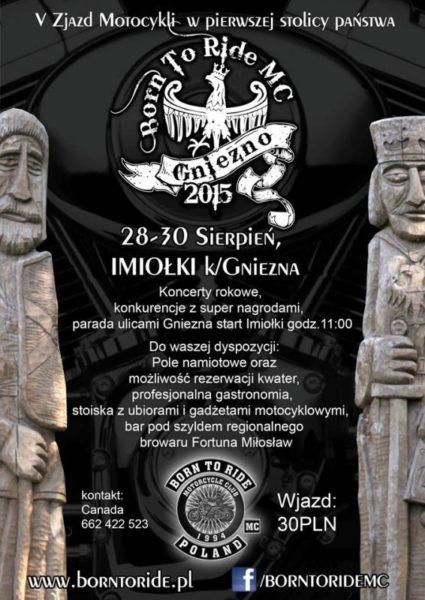 V Zjazd w Pierwszej Stolicy Państwa – 28-30.08.2015 Imiołki k/Gniezna