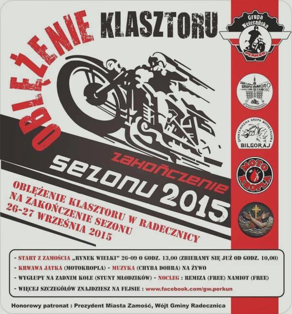 Oblężenie Klasztoru – 26-27.09.2015 Radecznica