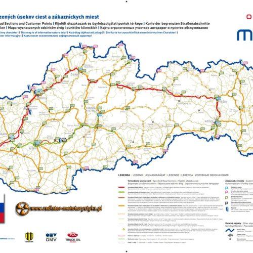 Ewiniety na słowackich autostradach i drogach szybkiego ruchu - wniosek