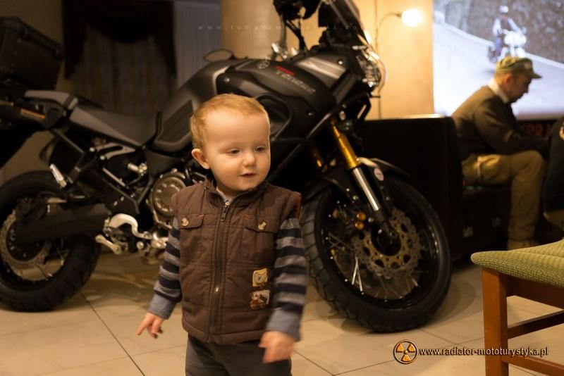 VI Nasze Wyprawy Motocyklowe - młody uczestnik