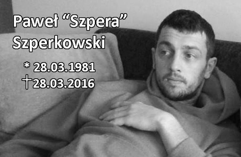 """Paweł """"Szpera"""" Szperkowski"""