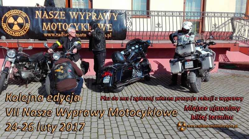 VI Nasze Wyprawy motocyklowe - motocykle
