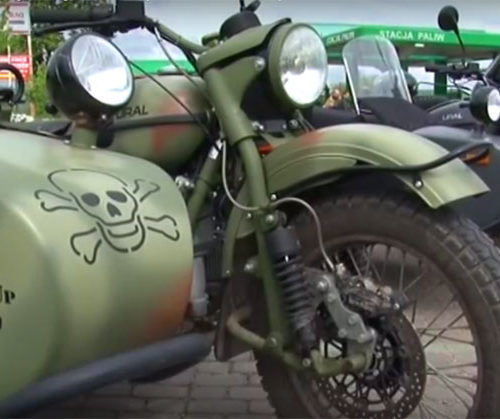 Zlot zabytkowych motocykli w Wiźnie, maj 2016 - relacja filmowa