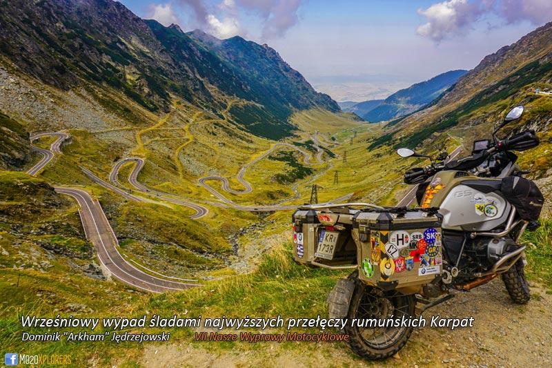 VII Nasze Wyprawy Motocyklowe – Wrześniowy wypad śladami najwyższych przełęczy rumuńskich Karpat