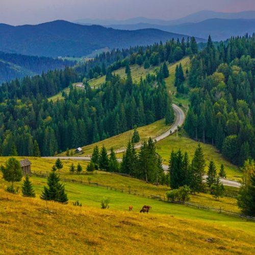 VII Nasze Wyprawy Motocyklowe - Wrześniowy wypad śladami najwyższych przełęczy rumuńskich Karpat