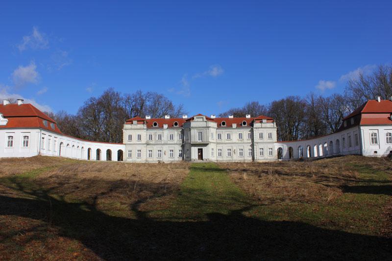 Zdjęcia z VII Nasze Wyprawy Motocyklowe - Pałac Łosiów