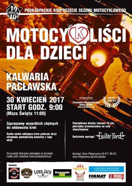 Podkarpackie Rozpoczęcie Sezonu Motocyklowego - Kalwaria Pacławska 2017
