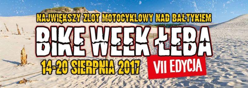 VII Międzynarodowy Zlot Motocykli Bike Week Łeba 2017