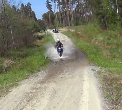 Lubaczów i Roztocze Wschodnie motocyklem
