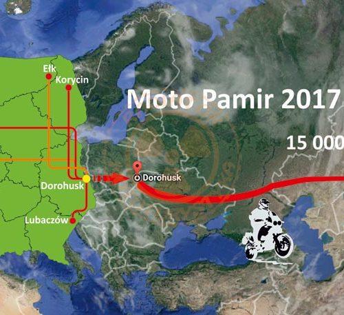 Startują - Moto Pamir 2017 Project