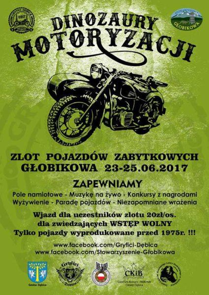 DINOZAURY MOTORYZACJI - Głobikowa 2017