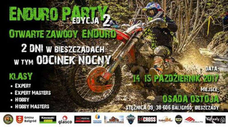 Enduro Party edycja 2 - Baligród