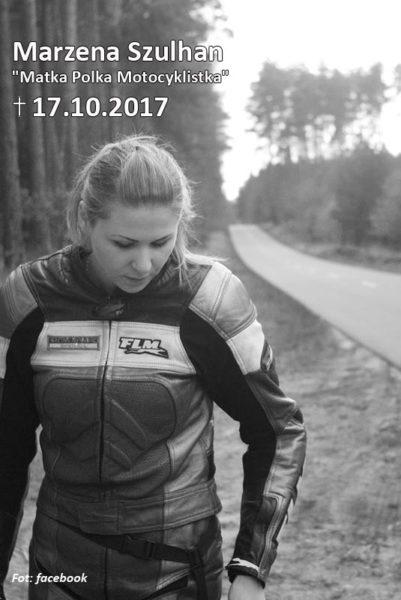 "Marzena Szulhan ""Matka Polka Motocyklistka"""