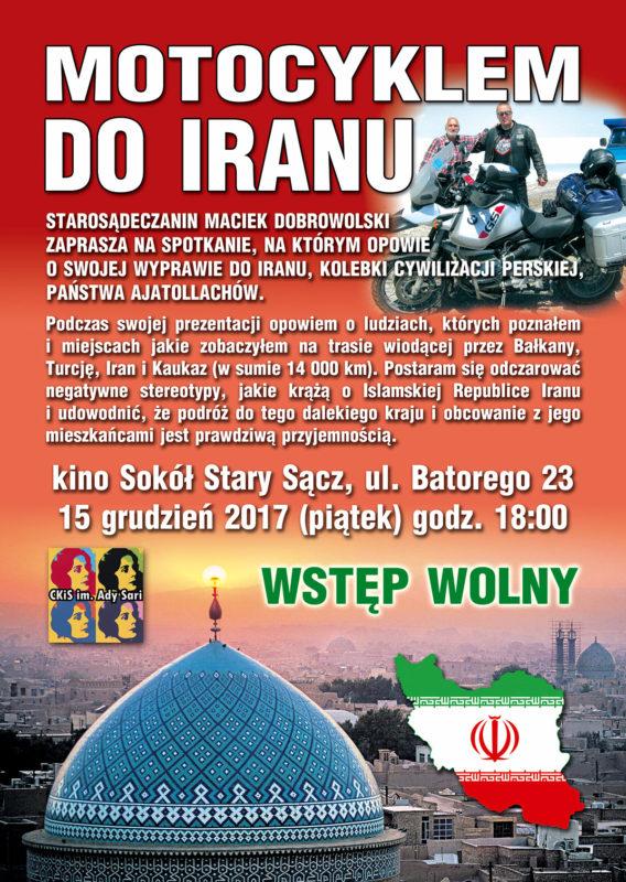 Motocyklem do Iranu