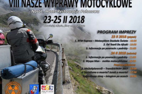 VIII Nasze Wyprawy Motocyklowe – Narol 2018