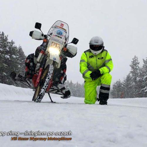 VIII Nasze Wyprawy Motocyklowe - Nordkapp zimą – śniegiem po oczach