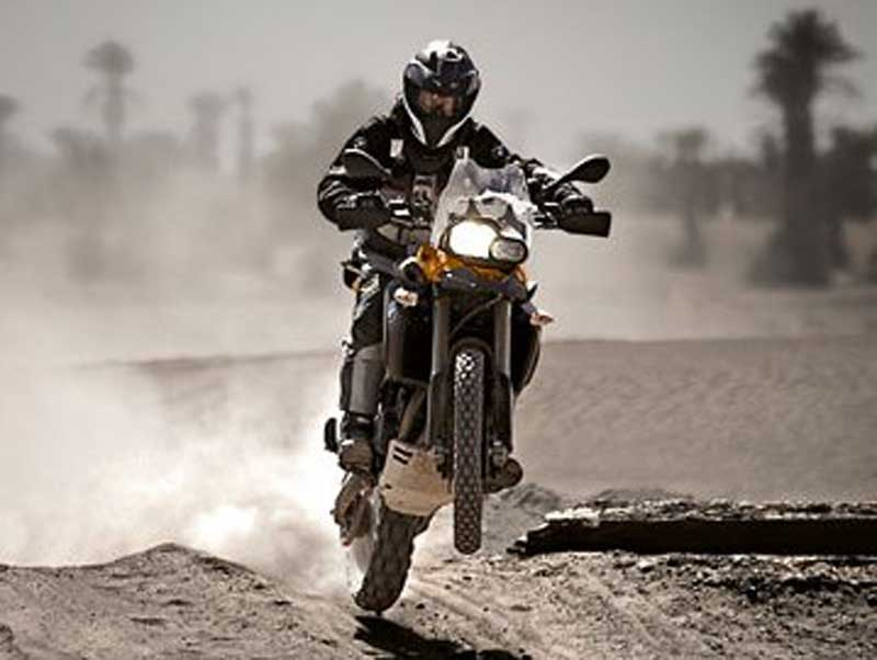 BMW F800GS. Nowinki motocyklowe - Radiator - Turystyka motocyklowa - Wyprawy motocyklowe - Podróże motocyklowe - Forum motocyklowe