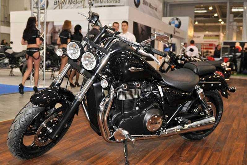 Triumph. Nowinki motocyklowe - Radiator - Turystyka motocyklowa - Wyprawy motocyklowe - Podróże motocyklowe - Forum motocyklowe
