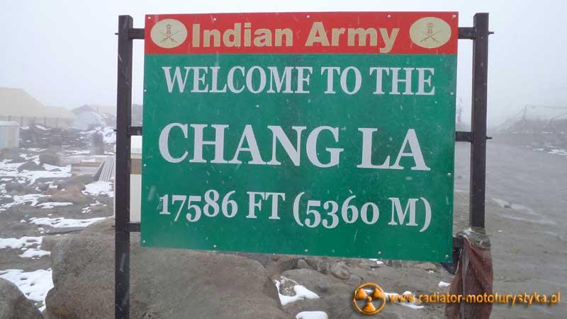 Przełęcz Hang La - 5360 m.n.p.m. - Himalaje - Indie 2011