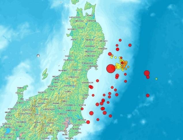 Tsunami w Japonii - siła trzęsień ziemi. Nowinki motocyklowe - Radiator - Turystyka motocyklowa - Wyprawy motocyklowe - Podróże motocyklowe - Forum motocyklowe