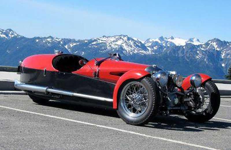 Morgan 3 Wheeler. ACE 3 wheeler. Nowinki motocyklowe - Radiator - Turystyka motocyklowa - Wyprawy motocyklowe - Podróże motocyklowe - Forum motocyklowe