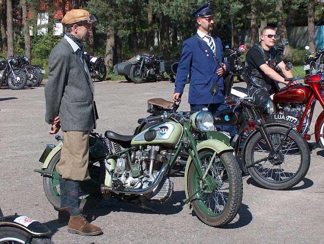 Turystyka motocyklowa. IV Rajd Nocny Motocykli Zabytkowych.