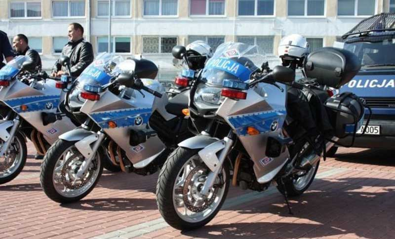 Nowe motocykle policji - BMW F 800ST