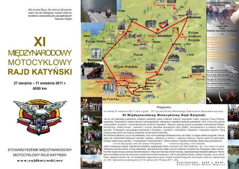 XI Międzynarodowy Motocyklowy Rajd Katyński
