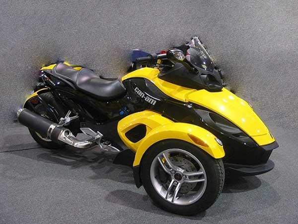 Motocykl Spider