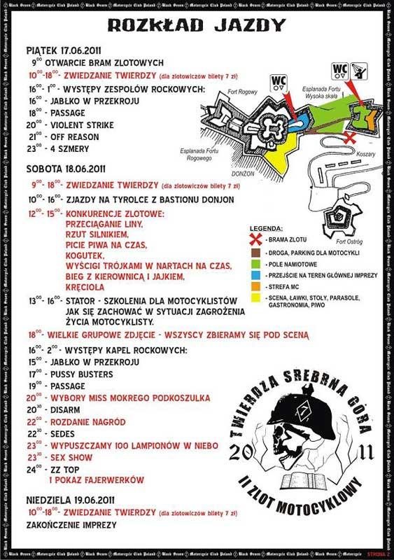 Zlot Motocyklowy Forty Srebrna Góra
