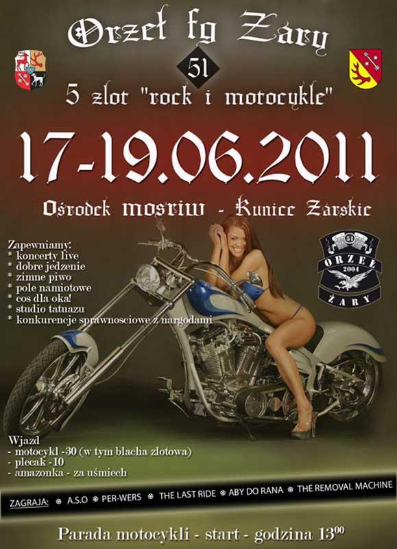 V Zlot Rock & Motocykle, Żary - Kunice Żarskie
