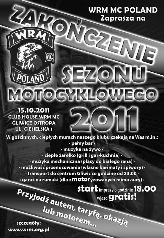 Zakończenie Sezonu Motocyklowego Gliwice 2011